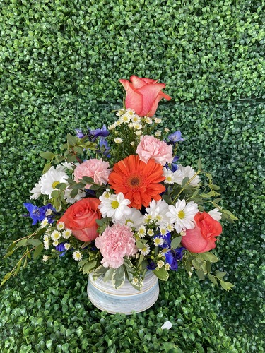 Moms Garden from Forever Flowers, flower delivery in St. Thomas, VI