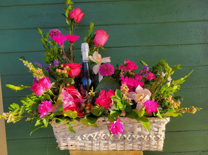 Bubbly from Forever Flowers, flower delivery in St. Thomas, VI